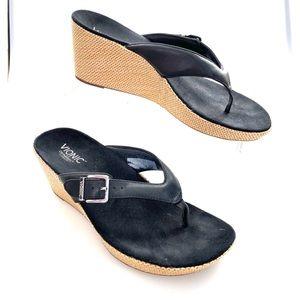 Vionic Orthaheel Polina Wedge Sandals